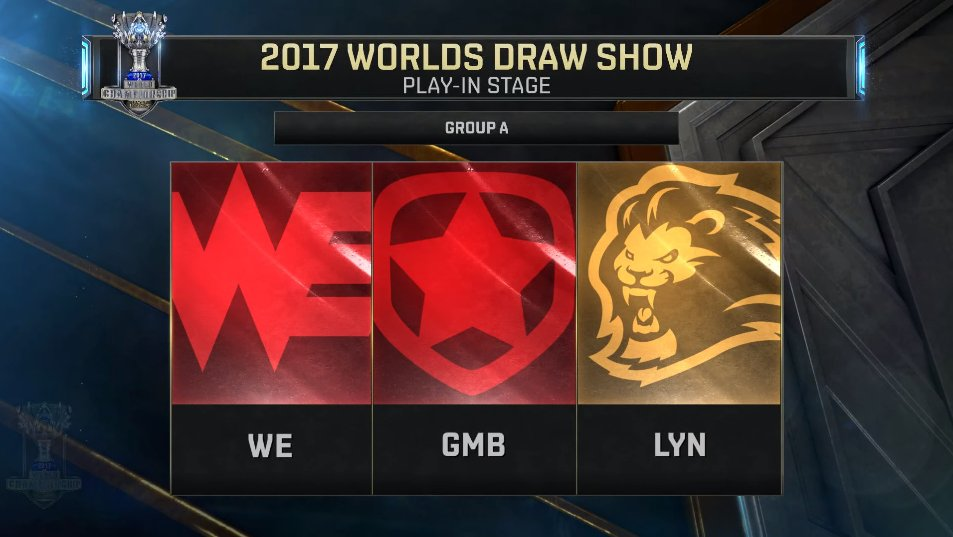 play in worlds 2017 group A
