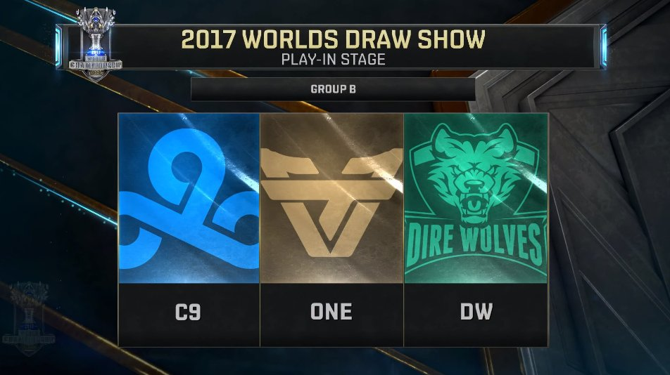play in worlds 2017 groupe b