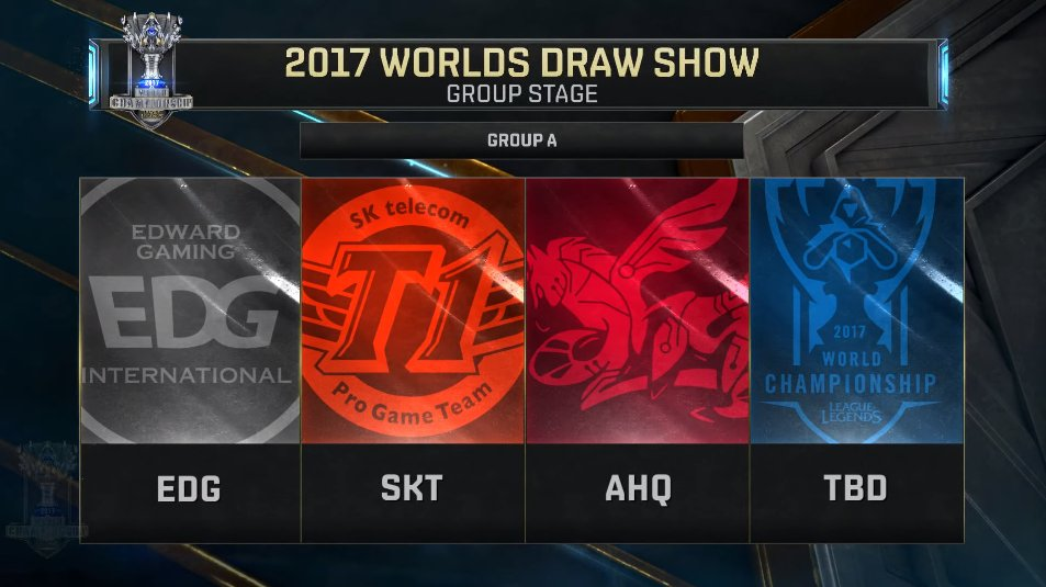 worlds 2017 groupe a
