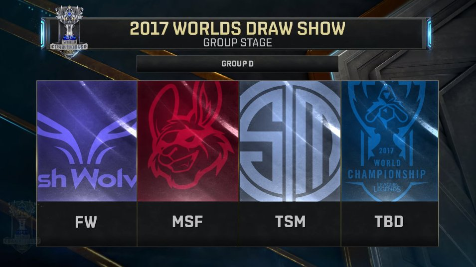 worlds 2017 groupe d