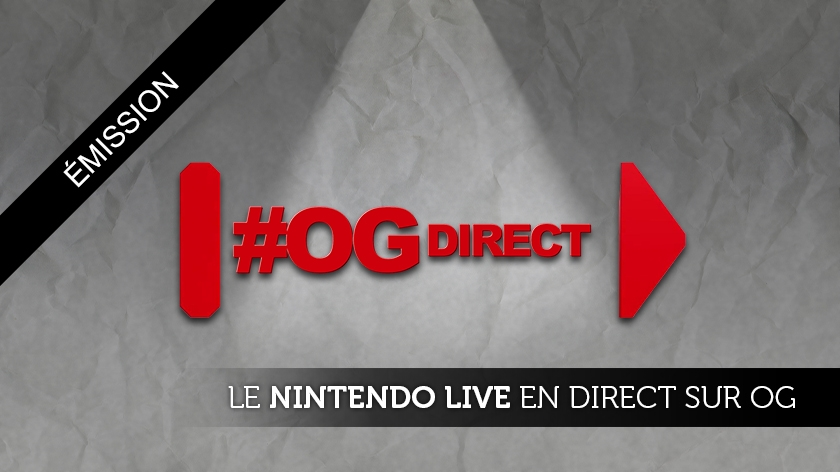O'Gaming se fait Nintendo en direct !
