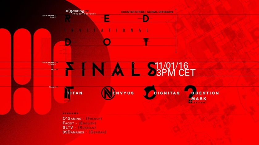 Les phases finales du Red Dot Invitational approchent
