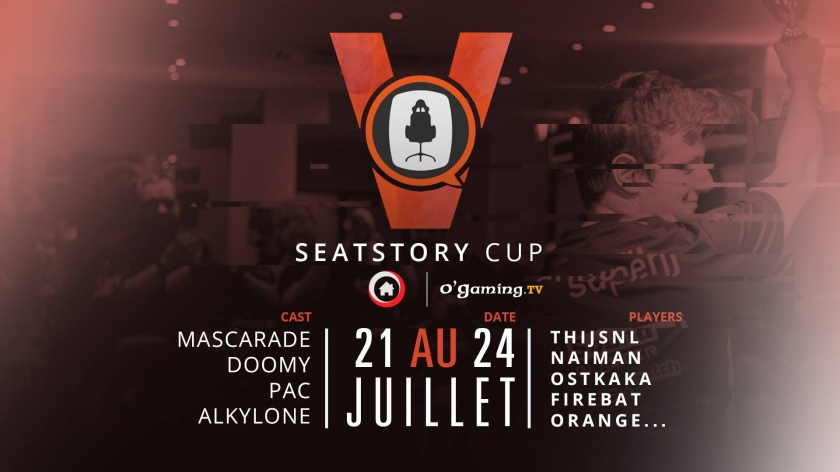 Seat Story Cup V débarque demain sur O'Gaming !