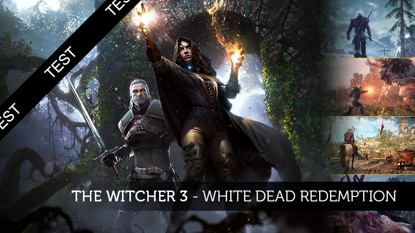 The Witcher 3 : White Dead Redemption !
