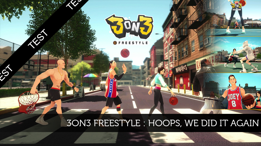 3on3 Freestyle : Hoops, we did it again!