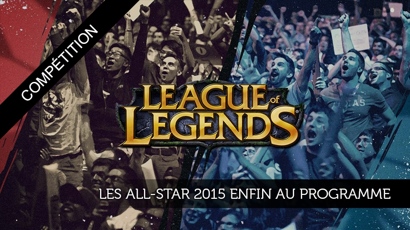 Les All-Star 2015 enfin au programme