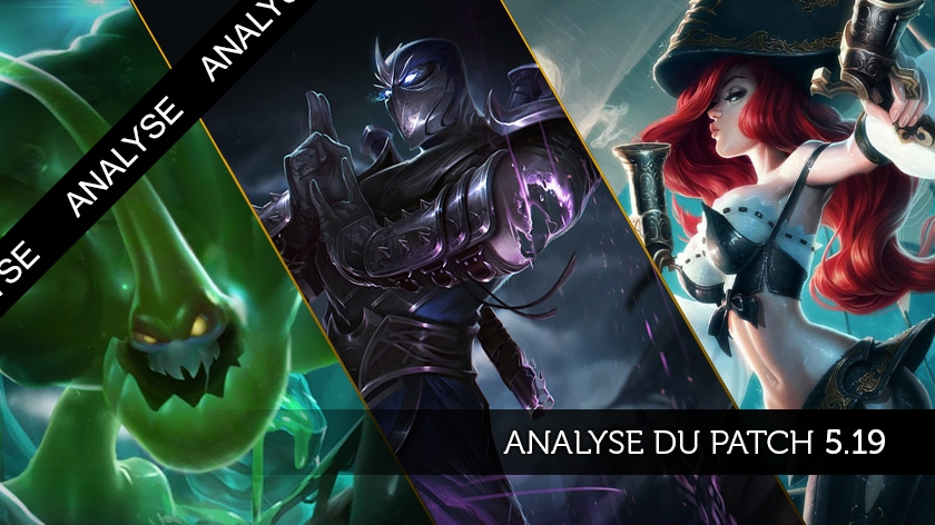 Patch 5.19 : Du changement dans la jungle !