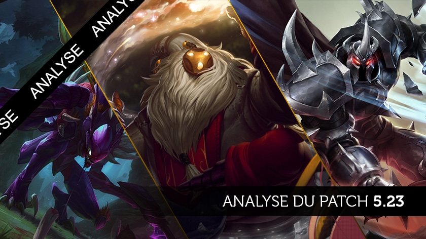 Patch 5.23 : Il est temps de carry AD !