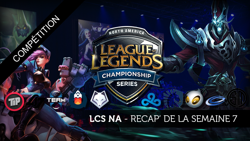 LCS NA Récap de la semaine 7 : Karthus, Requiem for a win.
