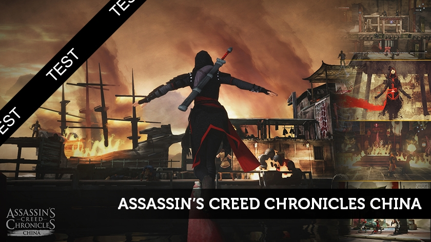 Assassin's Creed Chronicles China en demi-teinte