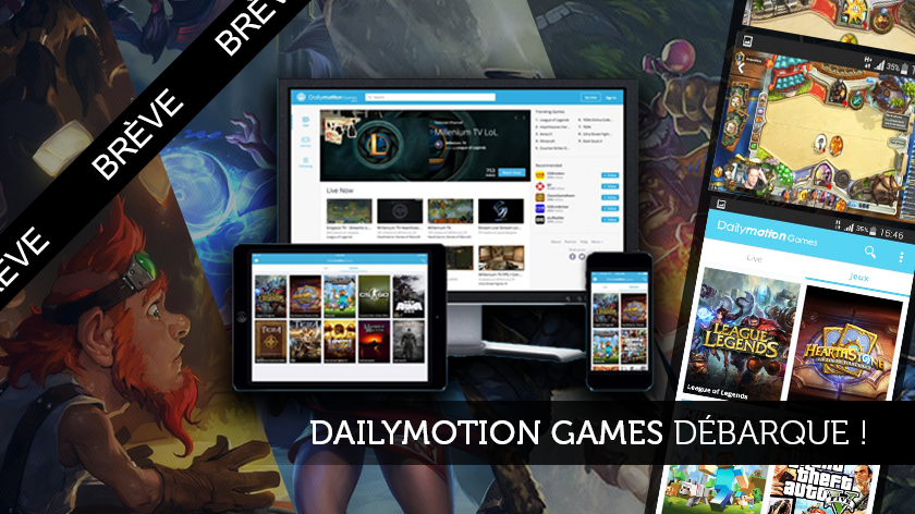 Dailymotion Games débarque