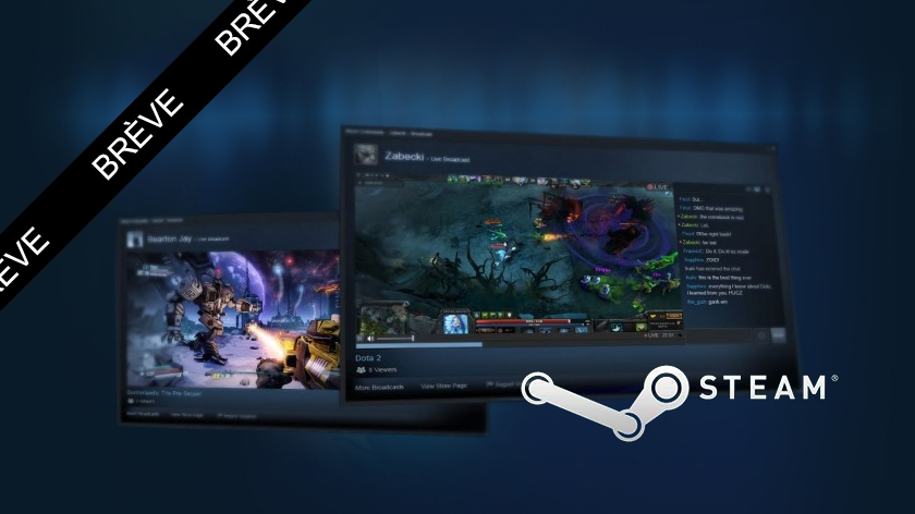 Steam se lance dans le streaming, Twitch dans le collimateur