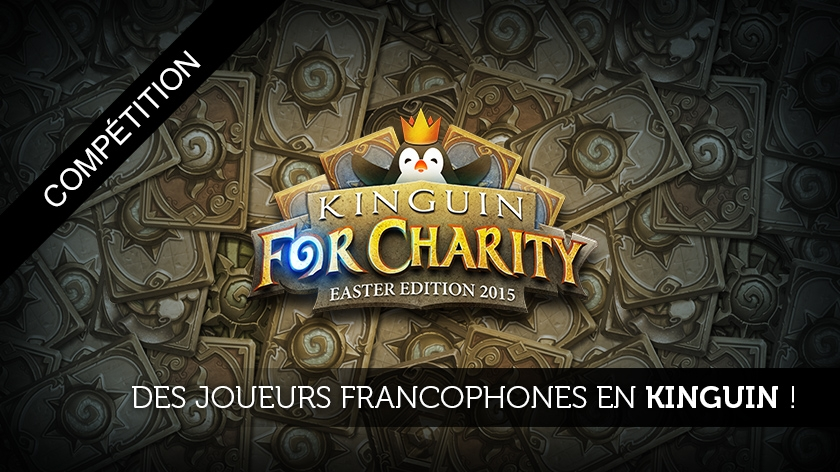 Deux francophones en Kinguin For Charity !