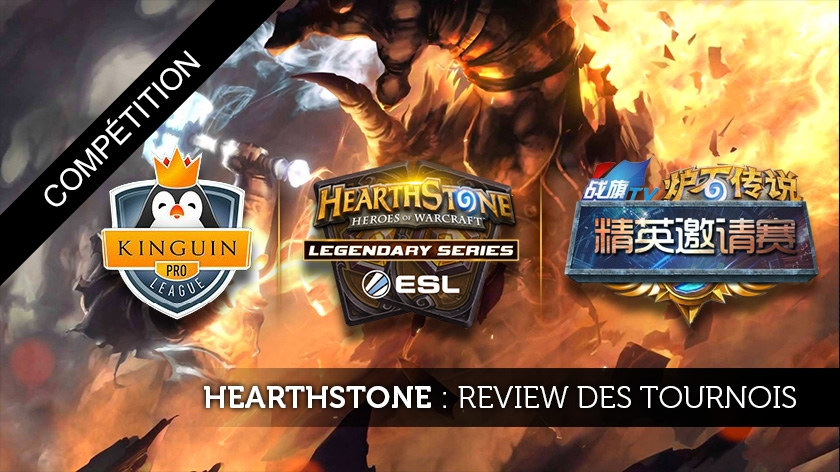 Review de la KPL, l'ESL et l'Elite Invitational sur Hearthstone