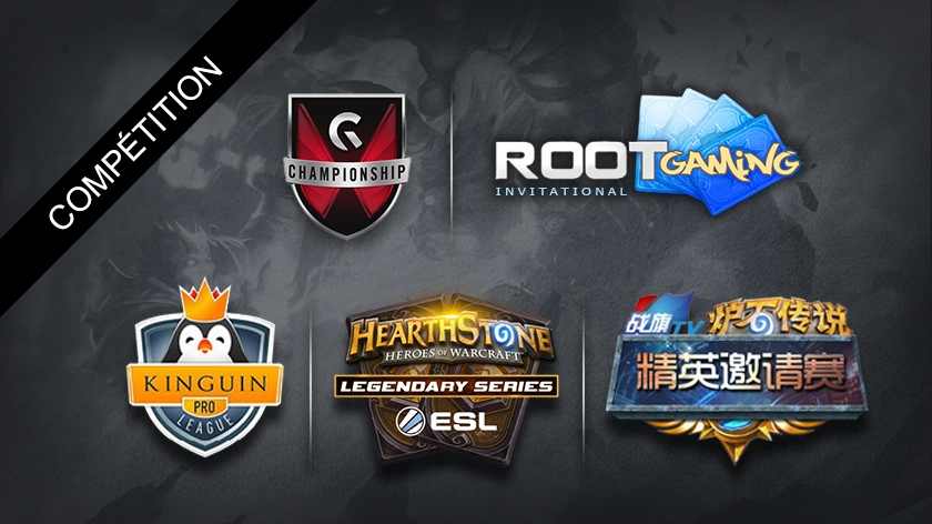 Review des tournois internationaux Hearthstone : KPL, Gfinity and co