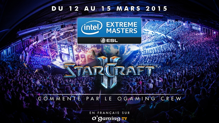 La phase finale des IEM en direct sur O'Gaming TV !