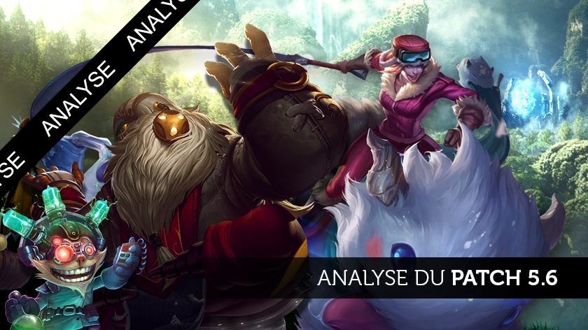 Analyse du patch 5.6, the Ryze is rising