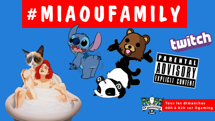 Miaou Family : The Late Lubricious Show !