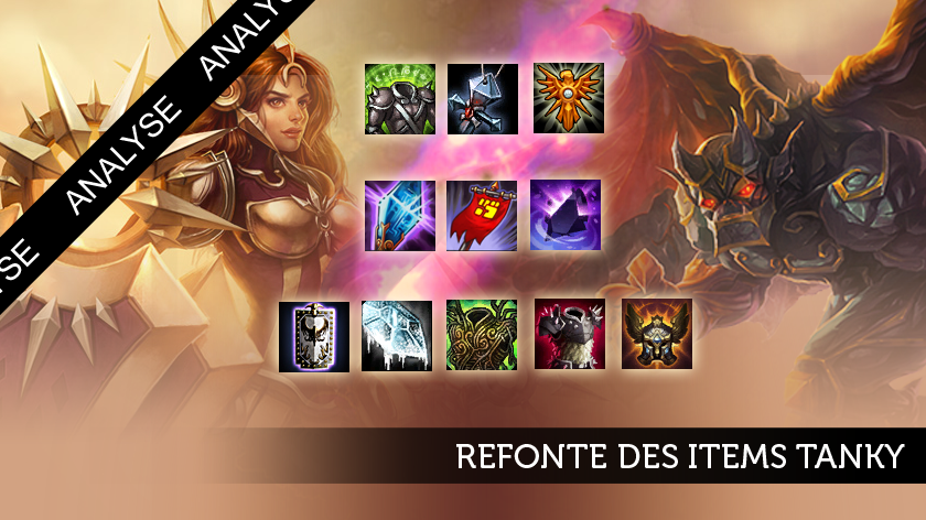 Refonte des items de tanks