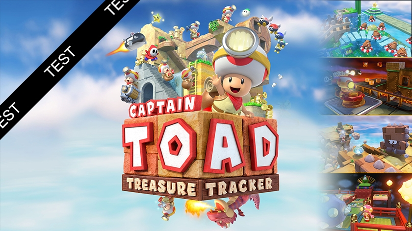 Captain Toad : Treasure Tracker : champignons hallucinants