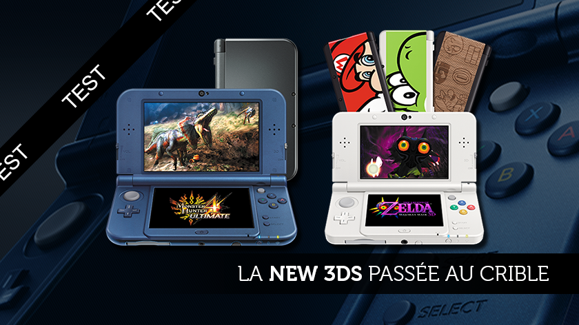 La New 3DS passée au crible