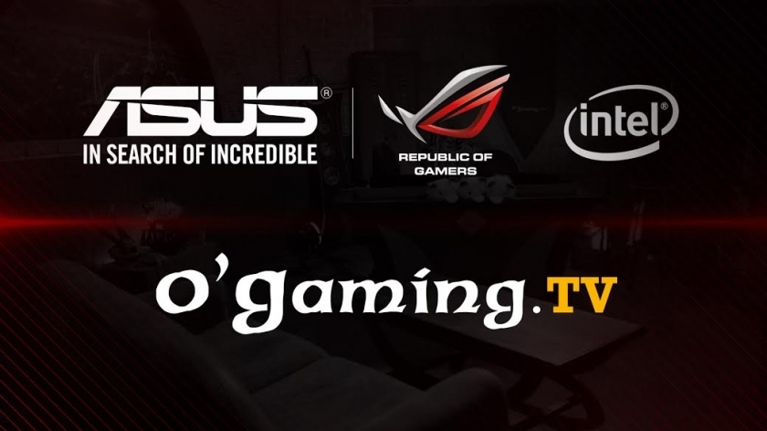 ASUS Republic of Gamers devient partenaire d'O'Gaming.tv