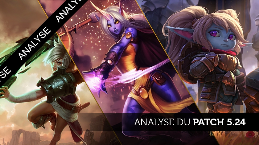 Patch 5.24 : à grands coups de marteau !
