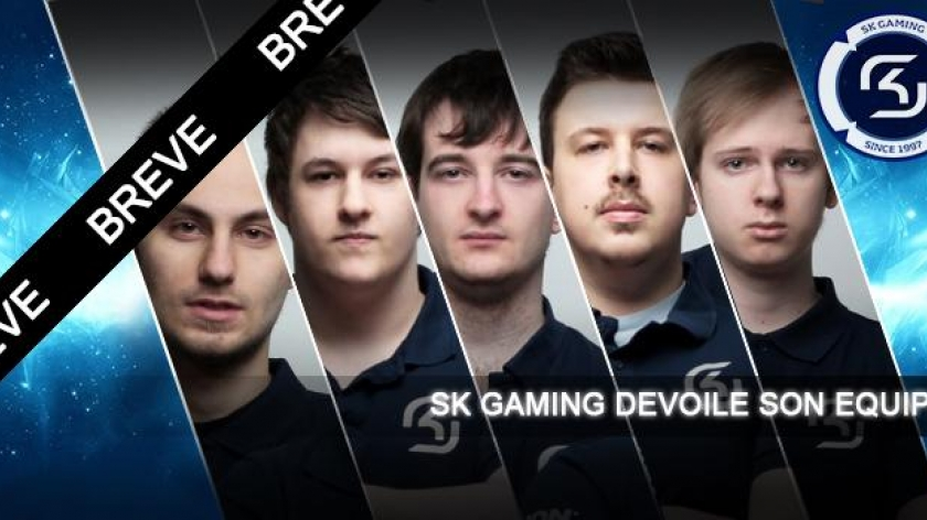 SK Gaming annonce son roster pour 2015