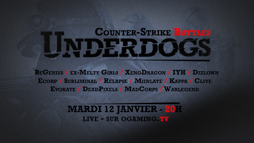 Underdogs saison 2 : les qualifications