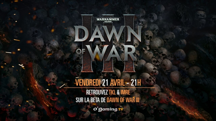 Dawn of War III sur O'Gaming