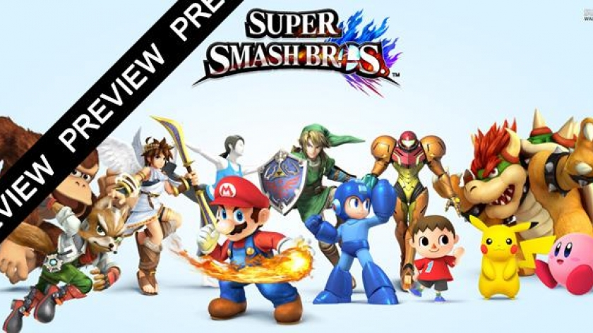 3DS : Super Smash Bros Preview !