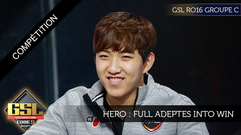 GSL: herO, full adepts into win.