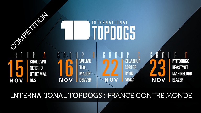 International Topdogs : France contre Monde