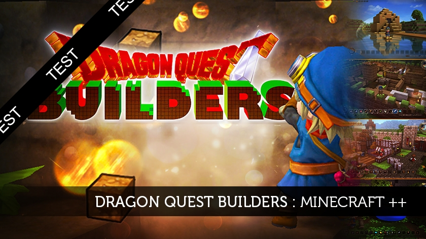 Dragon Quest Builders : Minecraft ++