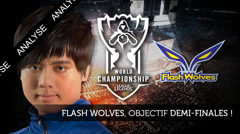 Flash Wolves, objectif demi-finale