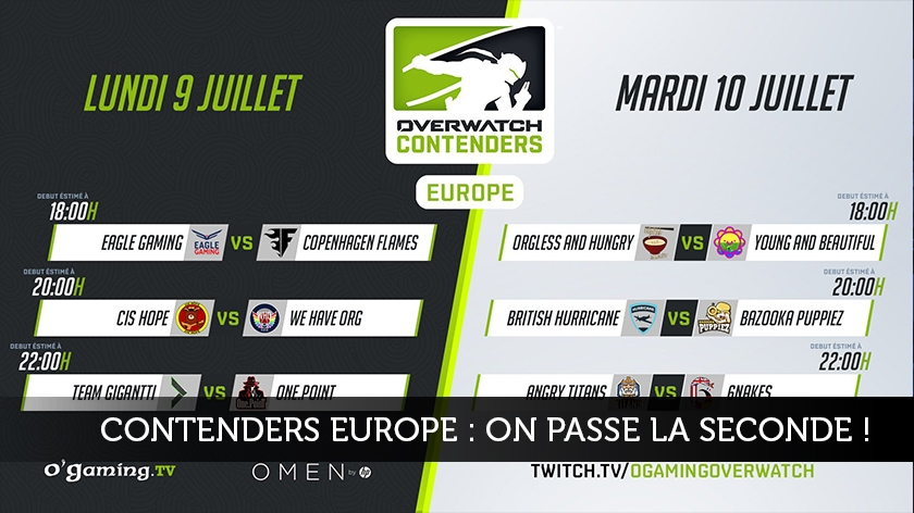 Contenders Europe : on passe la seconde !