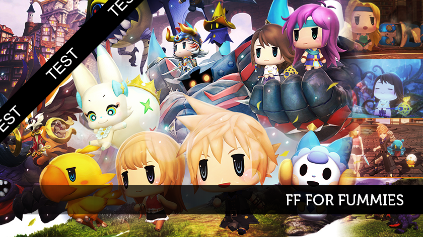 World of Final Fantasy : FF for dummies.