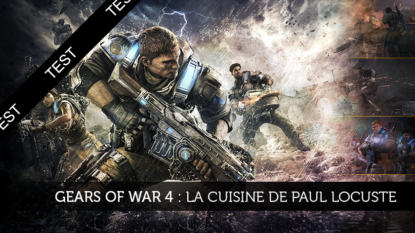 Gears of War 4, la cuisine de Paul Locuste