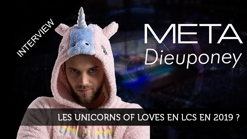 Les Unicorns of love en LCS en 2019 ?