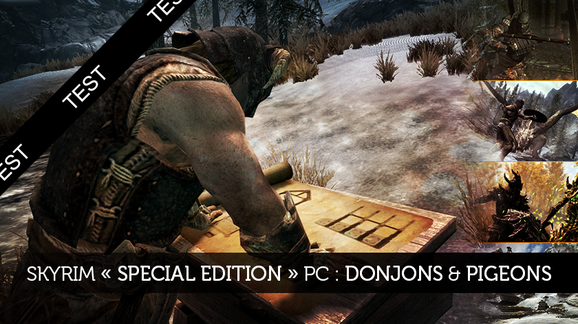 Skyrim « Special Edition » PC : Donjons & Pigeons