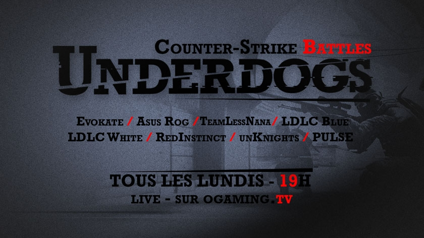 Underdogs arrive sur CS:GO