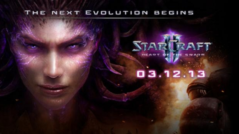 Une date pour Heart of the Swarm