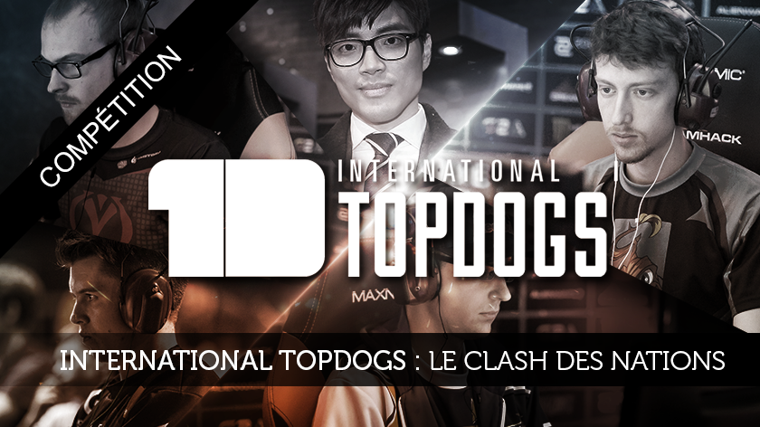 International TopDogs : le clash des nations