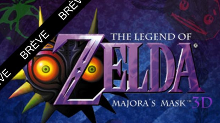 Legend of Zelda : Majora's Mask sur 3DS !