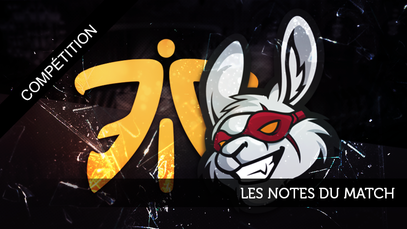 Misfits - Fnatic : les notes du match
