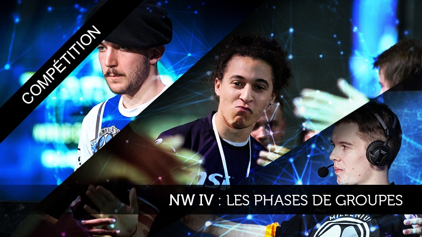 Nation Wars IV : Les phases de groupes