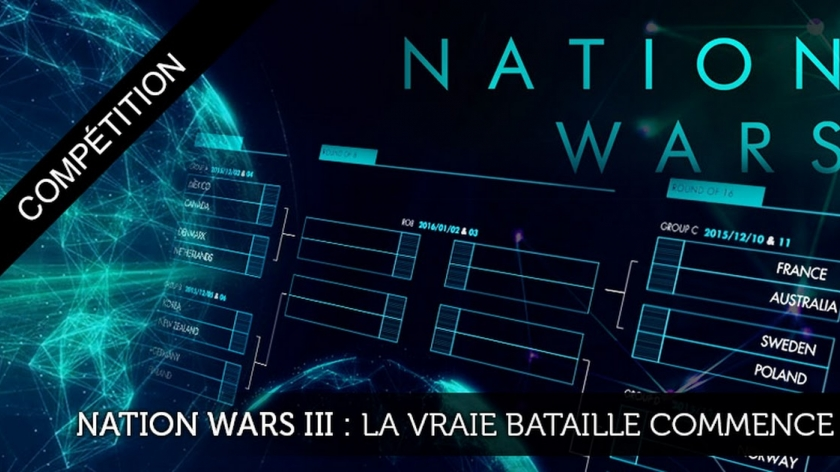 Nation Wars III : la vraie bataille commence
