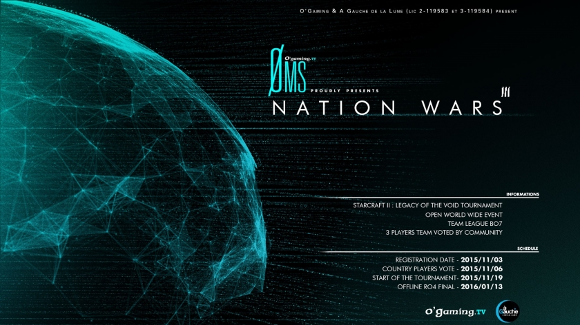 O'Gaming Øms présente : NationWars III
