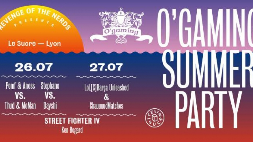 L'Ogaming Summer Party à Lyon !