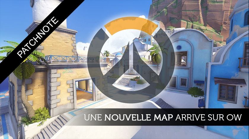 Overwatch : Gros up de Mei et nouvelle map !